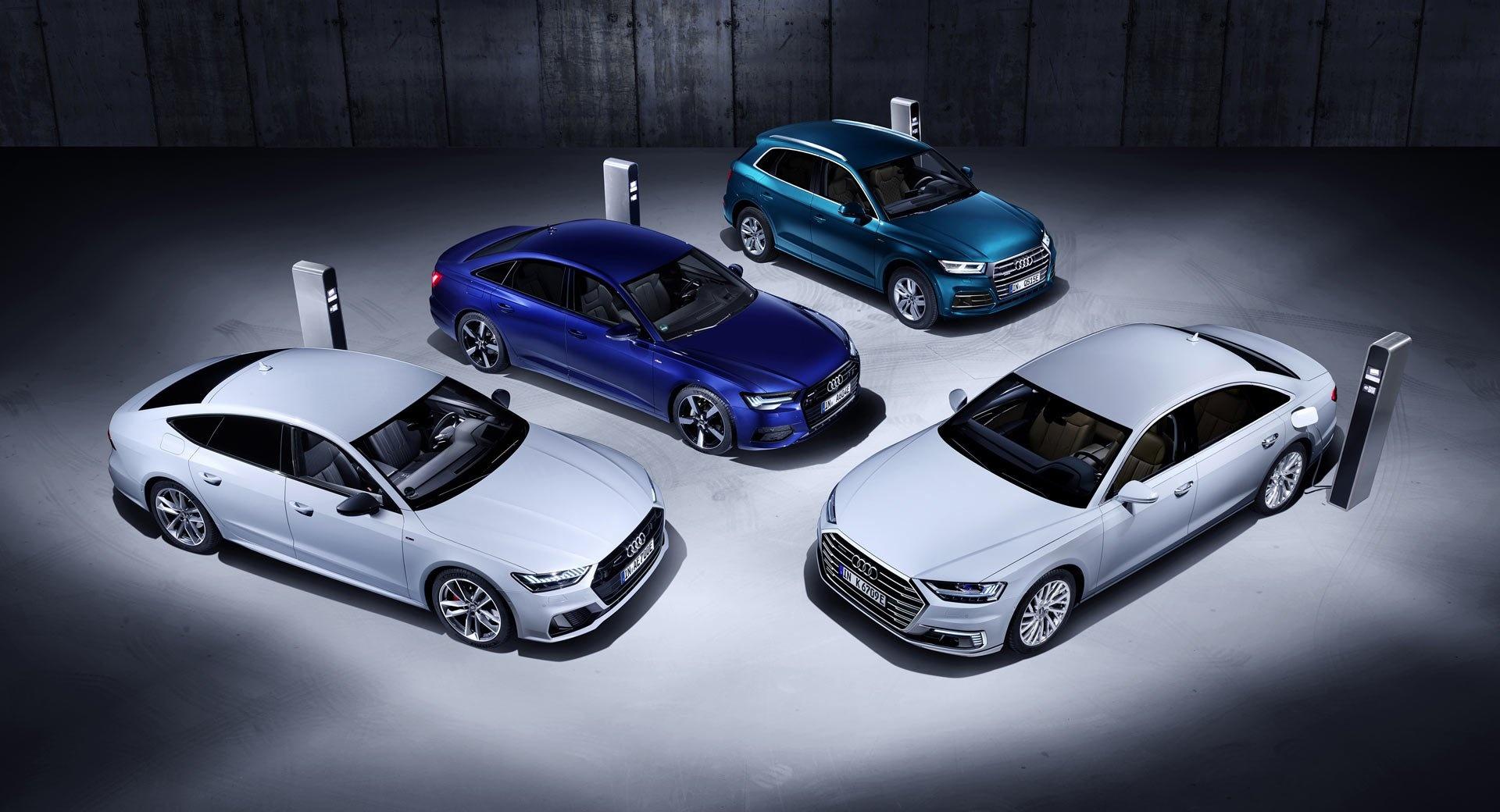 Audi ra mắt loạt xe lai mới, sạc pin chạy được 40 km