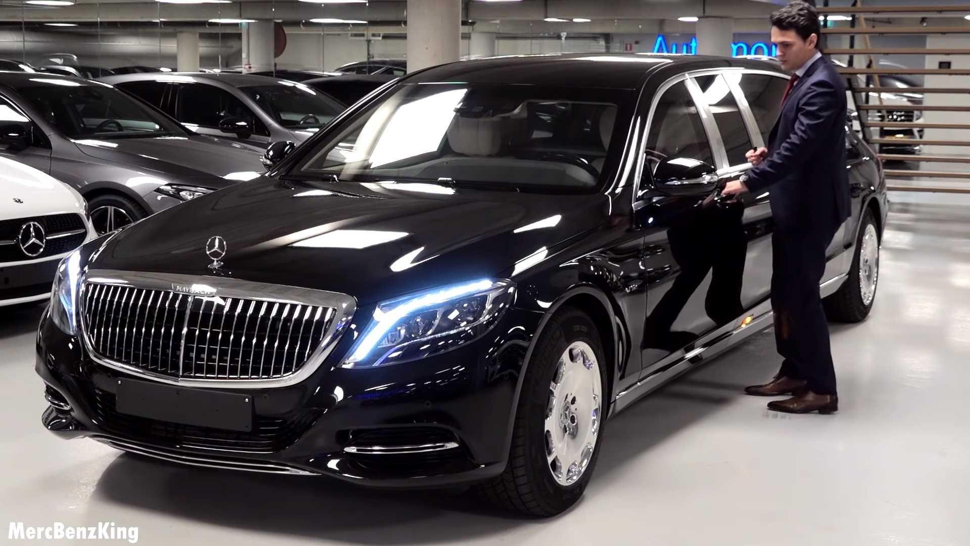 1,56 triệu USD cho Mercedes-Maybach S600 Pullman Guard chống đạn mới nhất