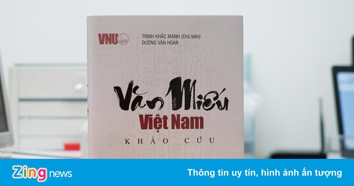 Sách chuyên khảo về hệ thống Văn Miếu Việt Nam
