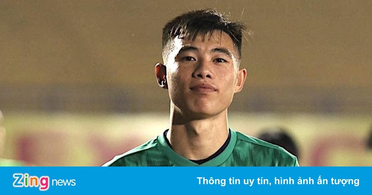 Quan Văn Chuẩn - thủ môn đang lên của U23 Việt Nam