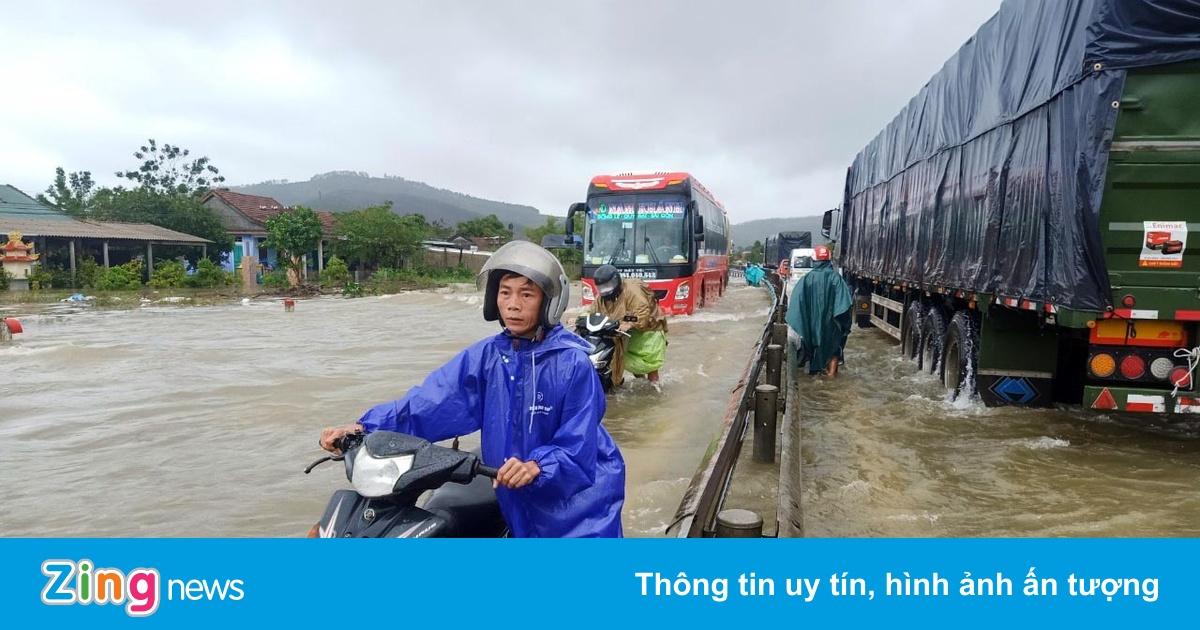 Miền Trung sắp hứng thêm đợt mưa lớn trong 5 ngày