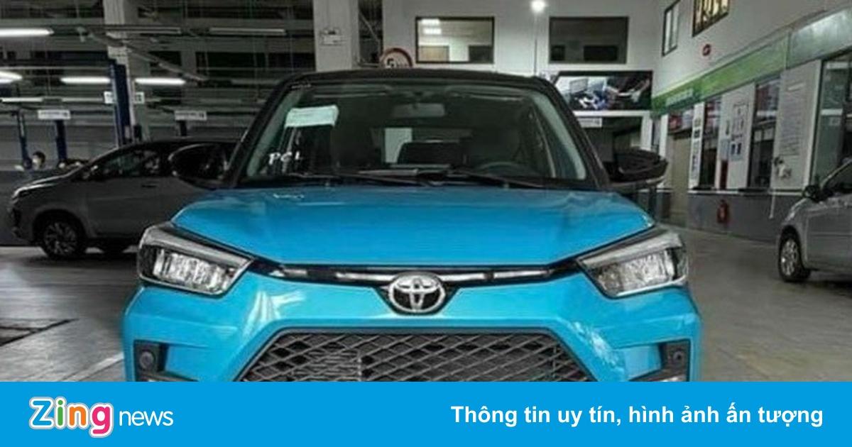 Toyota Raize về Việt Nam, giá dự kiến 450 triệu