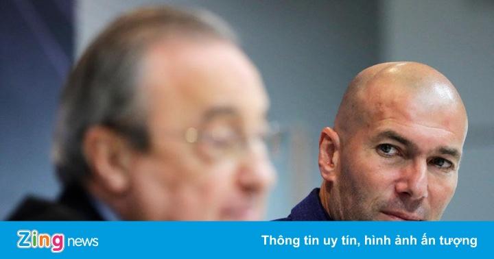 Những lời nói dối của Perez làm hại Zidane và Real