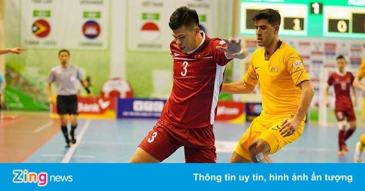 Tuyển futsal Việt Nam thắng thuyết phục Australia 2-0