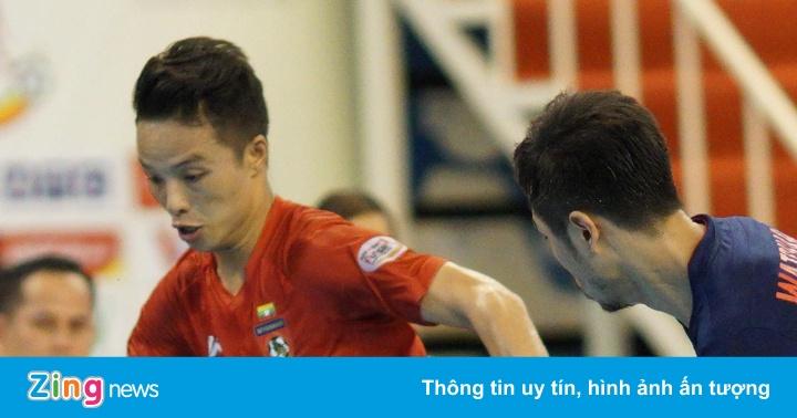 Tuyển futsal Myanmar khiêu chiến Việt Nam