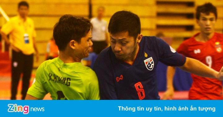 Tuyển Thái Lan khẳng định đẳng cấp ở giải futsal Đông Nam Á