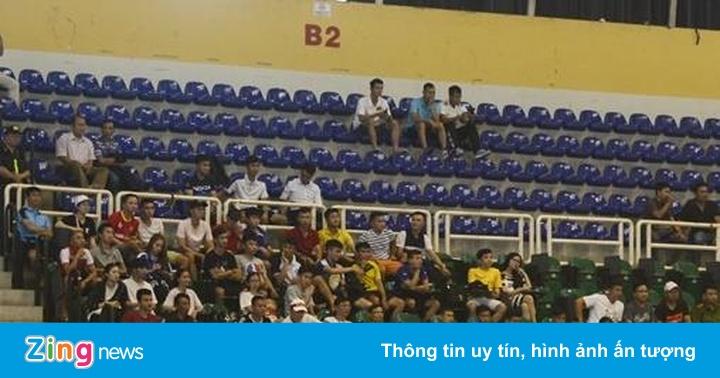 Nghịch lý trận futsal Việt Nam - Thái Lan: Cháy vé nhưng thừa chỗ