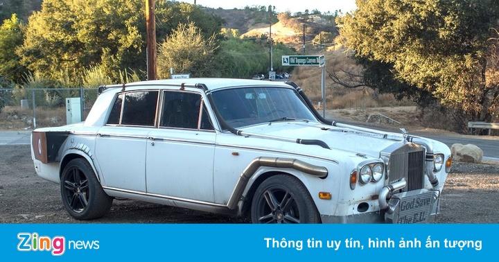 """Rolls-Royce độ kiểu """"chắp vá"""" độc nhất thế giới"""