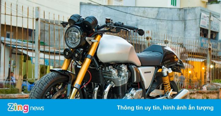Honda CB1100 hoài cổ với loạt phụ kiện đắt tiền của biker SG