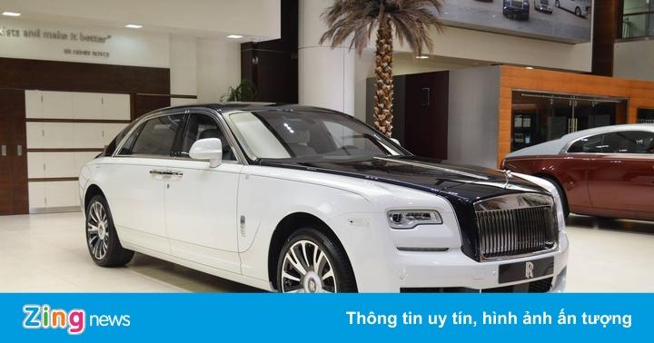 Bản độ Rolls-Royce Ghost EWB phong cách máy bay cá nhân