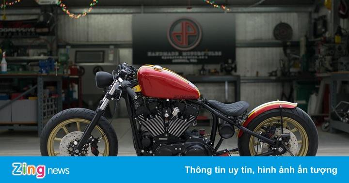 Harley-Davidson Forty-Eight độ bobber độc nhất của biker Việt