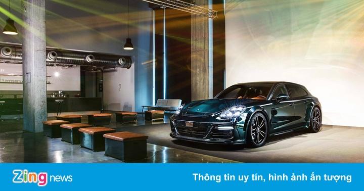 Porsche Panamera Sport Turismo sang trọng hơn nhờ TechArt