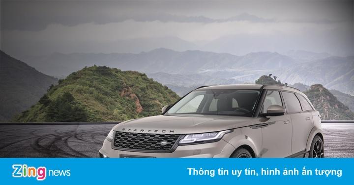 Range Rover Velar hầm hố hơn với bản độ thân rộng