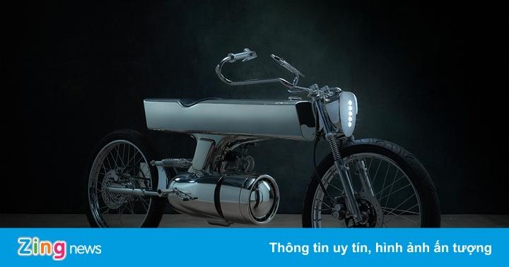 Hãng độ ở Sài Gòn ra mẫu môtô phong cách phim viễn tưởng