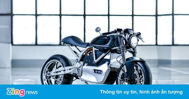 Chiếc Ducati chạy điện đầu tiên trên thế giới