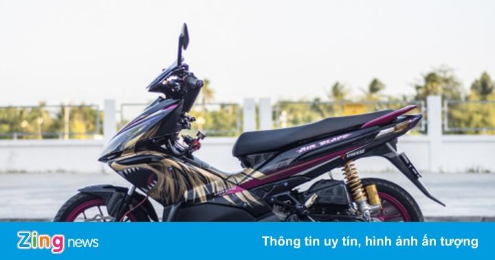 Honda Air Blade độ gần 100 triệu của biker Cần Thơ
