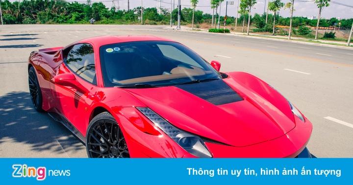 Ferrari 458 Italia độ bodykit Misha đầu tiên tại Việt Nam
