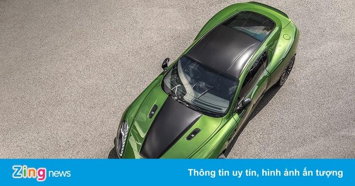 Bản độ Aston Martin lấy cảm hứng từ Người khổng lồ xanh