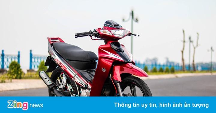 Yamaha Z125 độ đồ chơi hàng hiệu của biker Vĩnh Long
