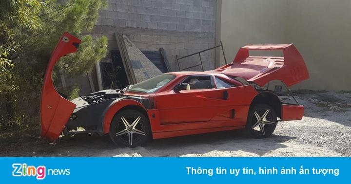 """""""Siêu xe"""" Ferrari F40 giá rẻ mạt 5.800 USD trên trang rao vặt"""
