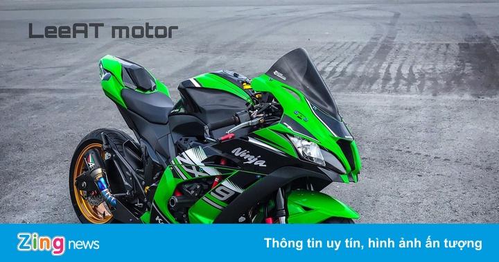 """Nakedbike Kawasaki Z800 """"phẫu thuật"""" thành siêu môtô tại Sài Gòn"""