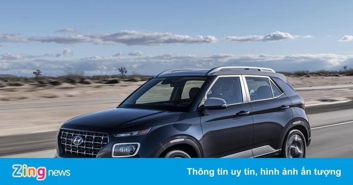 Hyundai Venue chính thức ra mắt, nhỏ hơn và rẻ hơn Kona