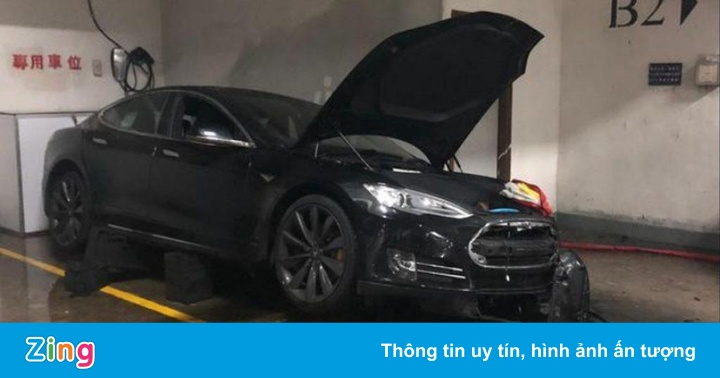 Cháy xe ở Trung Quốc, Tesla tức tốc nâng cấp phần mềm