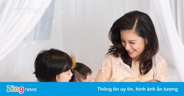 MC Minh Trang sinh con thứ 4