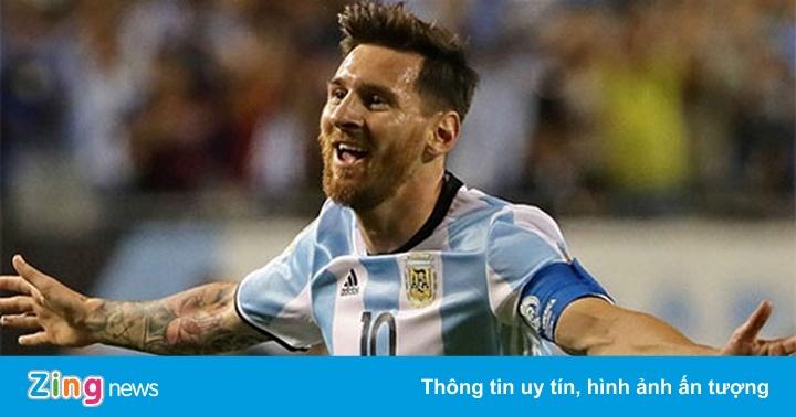 Messi không dự buổi tập trước trận gặp Tây Ban Nha