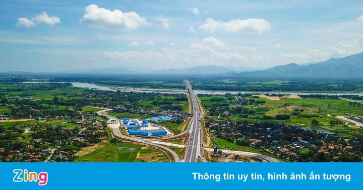 Cận cảnh gói thầu A5 thuộc cao tốc Đà Nẵng - Quảng Ngãi dính sai phạm