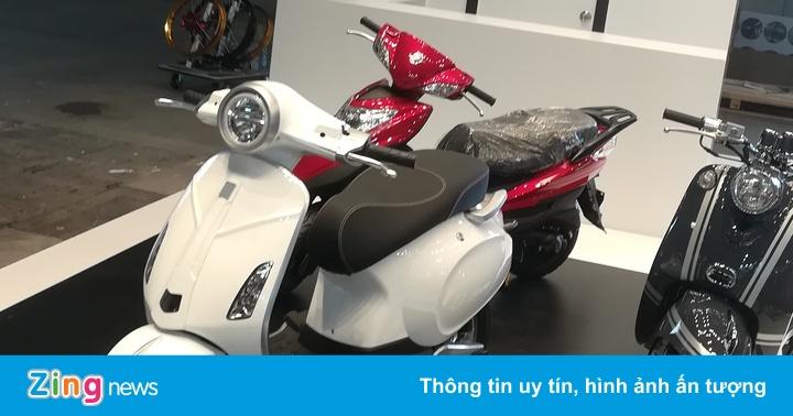 Xe Trung Quốc nhái Vespa Primavera bị bác đơn đăng ký kiểu dáng