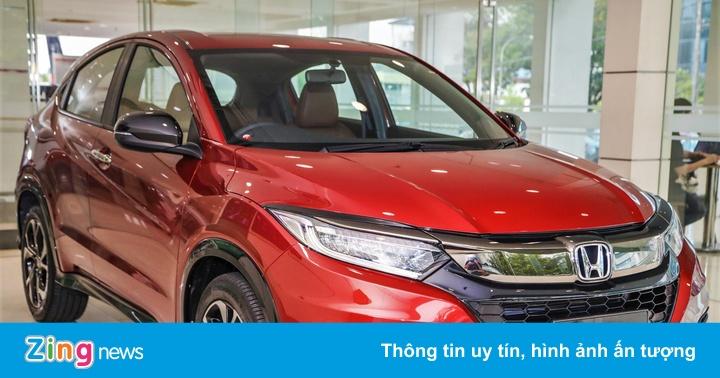 Honda HR-V RS có thêm tùy chọn nội thất màu nâu, giá từ 29.000 USD