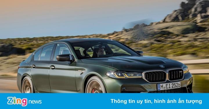 BMW M5 CS được ra mắt, giá 142.000 USD - mega 655