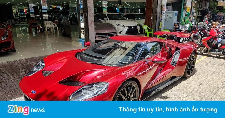 Siêu xe Ford GT độc nhất Việt Nam xuất hiện tại TP.HCM