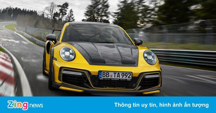 Porsche 911 Turbo S mạnh 800 mã lực với gói độ từ TechArt - vietllot 655