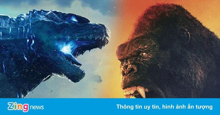 'Godzilla vs. Kong' có thể được đưa lên mạng và ra rạp cùng lúc