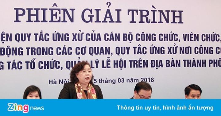 """Còn tình trạng cán bộ """"thích thì mới làm"""" ở Hà Nội"""