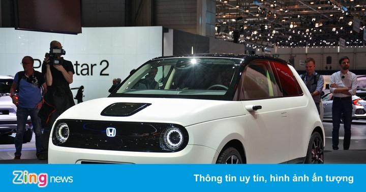 Honda chi 46 tỷ USD để chiếm ưu thế trên thị trường ôtô điện