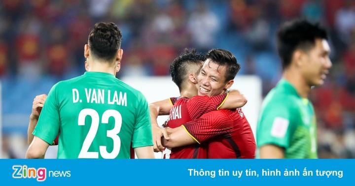 HLV Park Hang-seo cho các trụ cột ở AFF Cup 2018 nghỉ ngơi