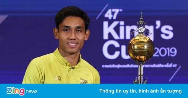Tiền đạo Thái Lan khát khao ghi bàn vào lưới Việt Nam