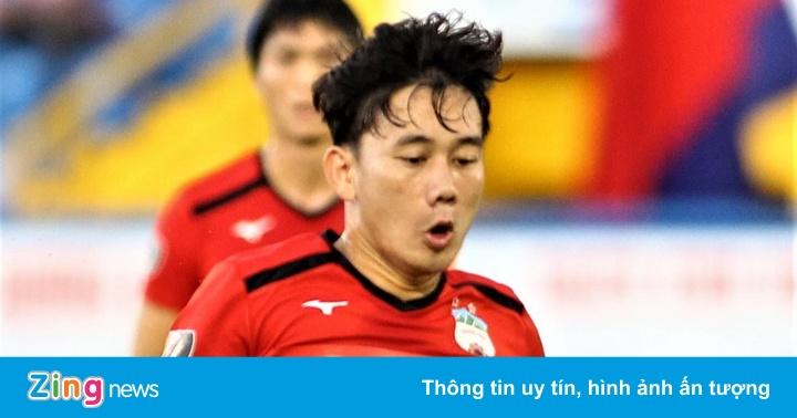 Minh Vương việt vị khi ghi bàn thắng cho HAGL?
