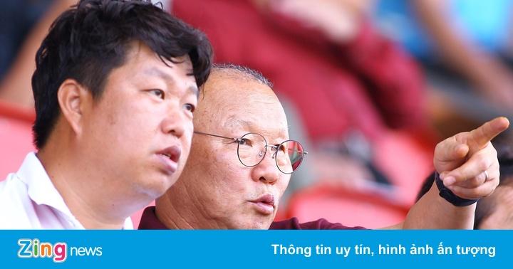 HLV Park Hang-seo tiếp tục tuyển quân cho SEA Games
