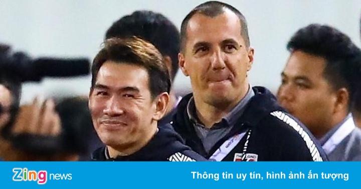 HLV Park gặp lại trợ lý tuyển Thái Lan ở SEA Games 30