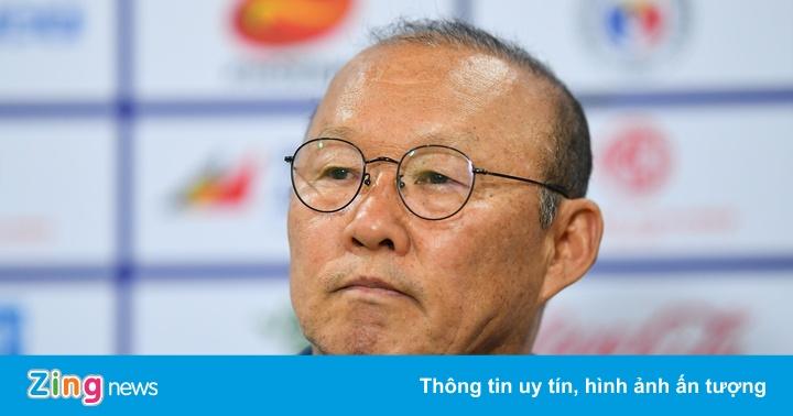 HLV Park: 'Không nên nói lại sai lầm của thủ môn'