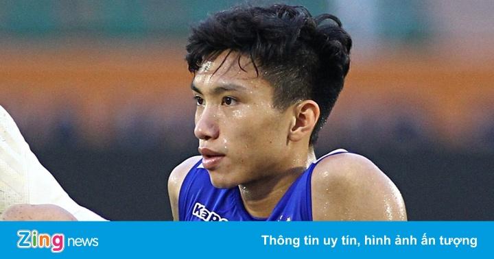 Văn Hậu chưa thể ra sân tập cùng tuyển Việt Nam - gi�� v��ng h��m nay