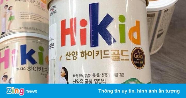 Tràn lan sữa trẻ em xách tay