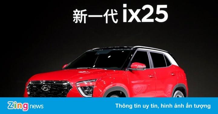 Hyundai Creta 'đập đi xây lại', thay đổi nhiều ở thiết kế