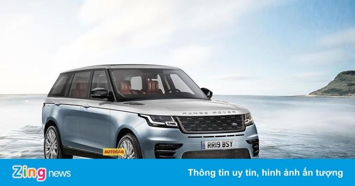 Range Rover 2020 ra 12 phiên bản, giá đắt nhất 210.795 USD