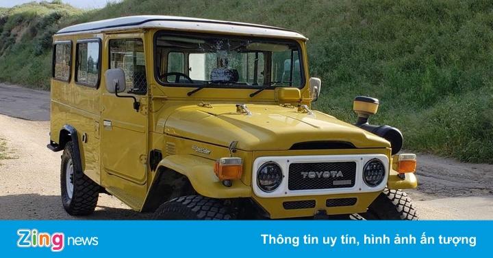 Toyota Land Cruiser đời cũ có giá rẻ bèo