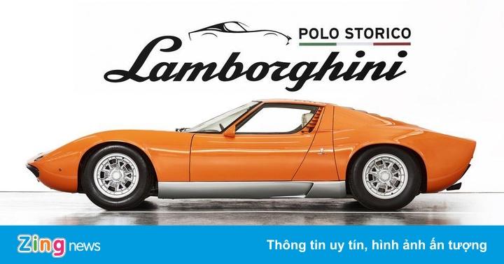 Siêu xe cổ Lamborghini Miura được phục chế đẹp 'hoàn hảo'